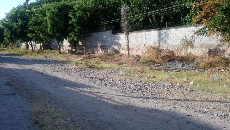 Basurero la avenida Ejército Nacional