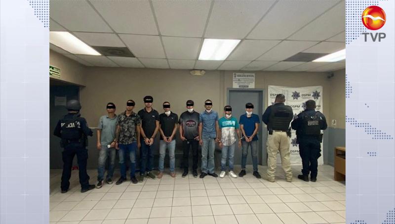 Detienen a 11 sinaloenses en Mexicali