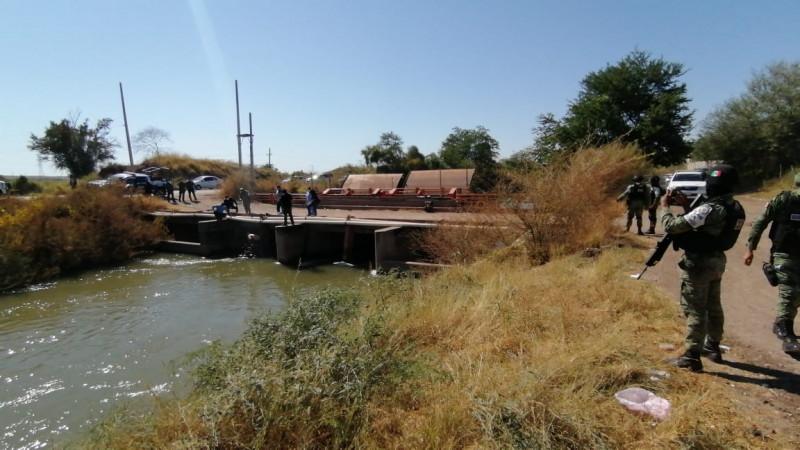 Encuentran cuerpo de militar en aguas del canal San Lorenzo