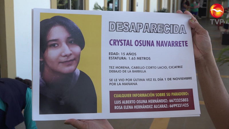 Extienden búsqueda de Crystal en Mazatlán