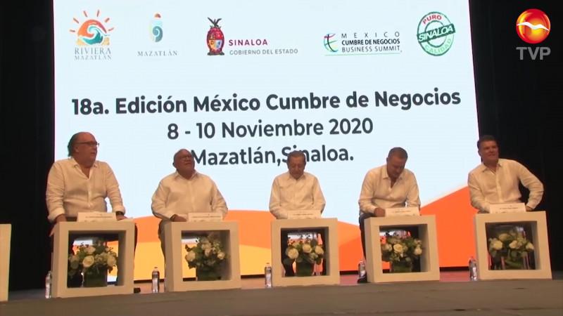 Este fin de semana la México Cumbre de Negocios 2020 en Mazatlán