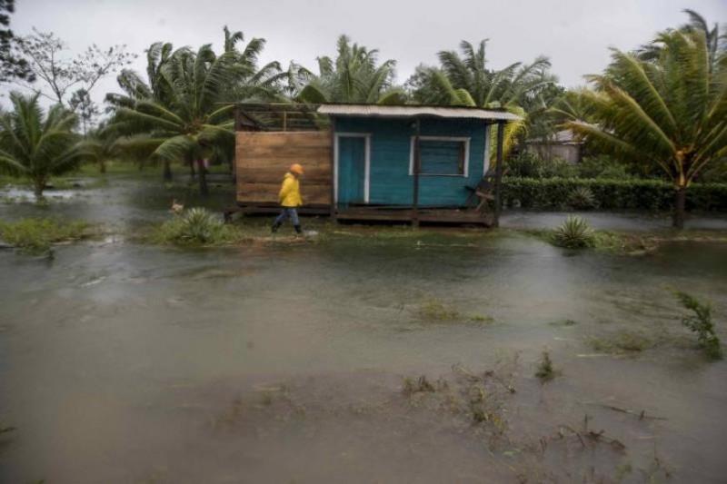 """Rescatan el """"pana, pana"""", un ritual para sobrevivir tras el Eta en Nicaragua"""
