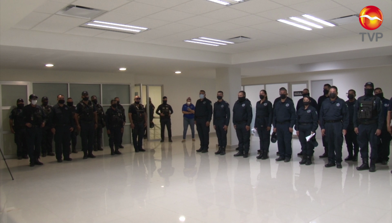 Reconocen a policías destacados de Mazatlán