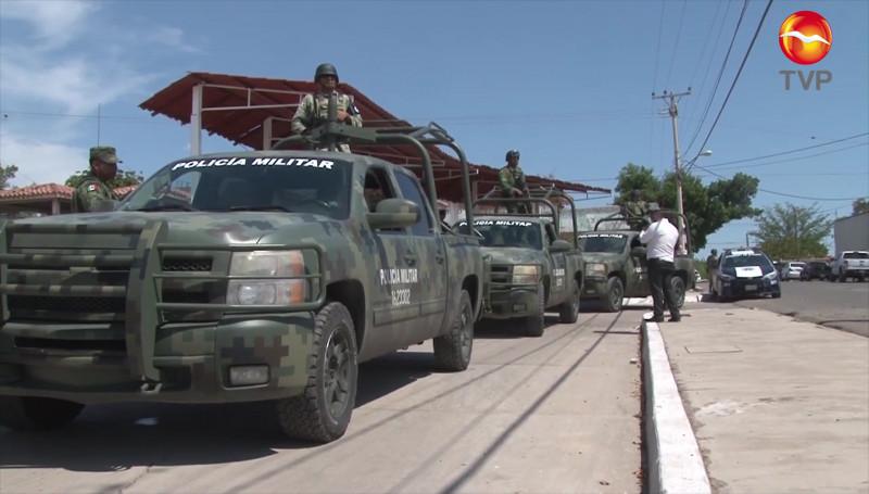 Militares a los cuarteles: diputado local