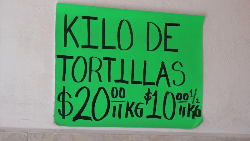 Podría aumentar el precio por kilo de tortilla