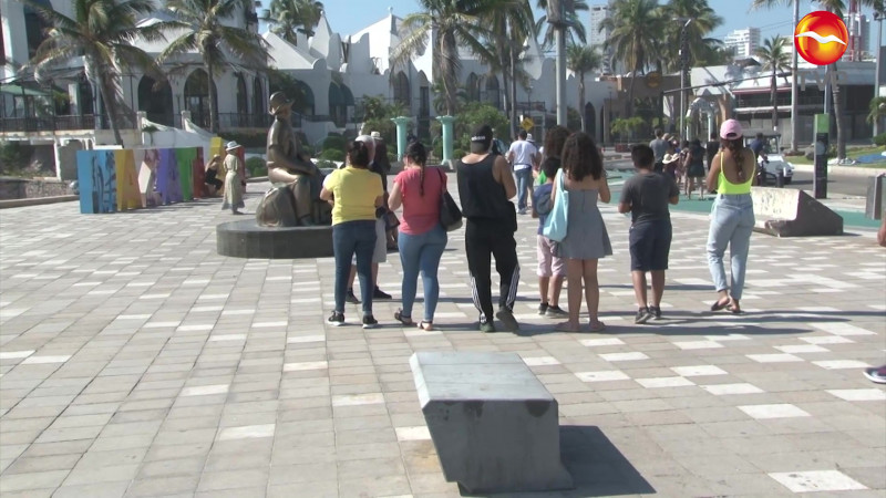 Prevén un Mazatlán lleno de turistas este fin de semana