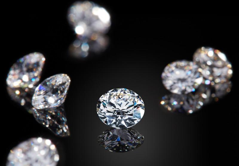 Diamantes 'que vienen del cielo'
