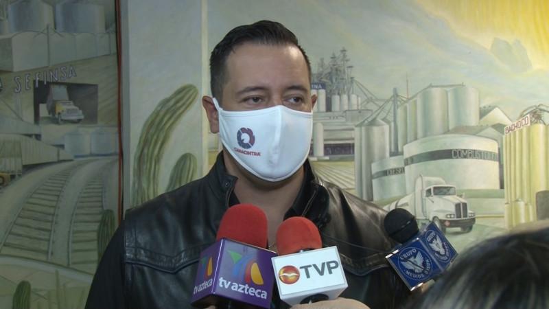 Lamenta Canacintra fallecimiento de Don Javier Bours Almada