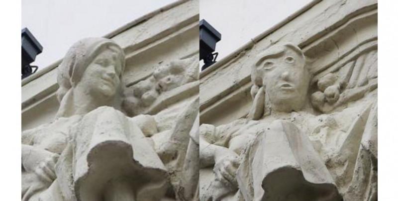 """""""Restauración"""" fallida terminó desfigurando estatua antigua y redes sociales recuerdan la pifia que le hicieron al """"Ecce Homo"""""""