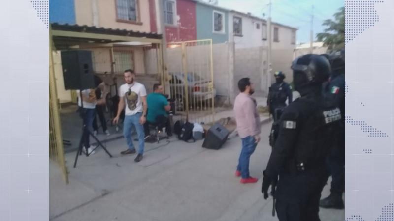 Más de 30 fiestas se realizan en Culiacán los fines de semana en domicilios, según la SSPyTM