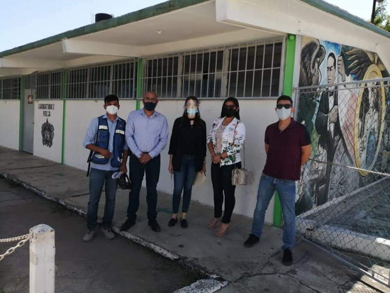 "ISIFE dará mantenimiento a Secundaria General No. 6 ""Cuauhtémoc"""