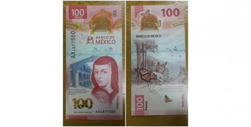 El nuevo billete de 100 pesos rendirá homenaje a Sor Juana Inés de la Cruz