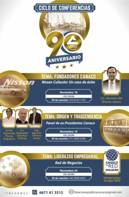 CANACO celebra su 90 aniversario y presenta su plataforma de compras en línea