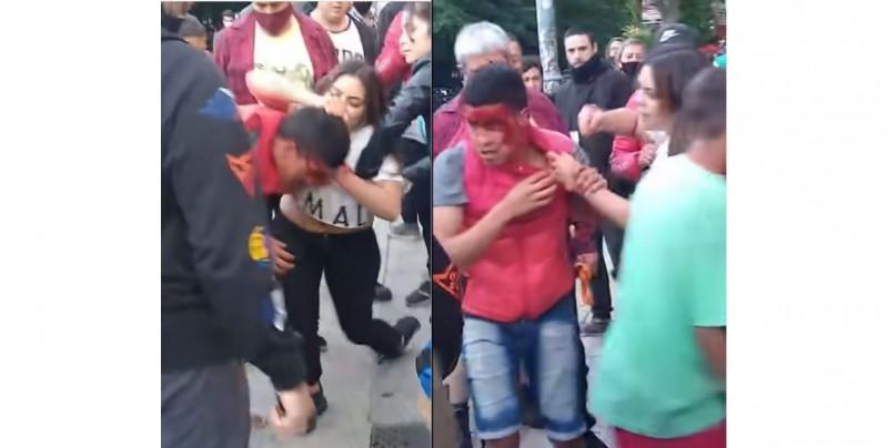 Video: Así quedó este joven que intentó asaltar a Brisa sin saber que ella estudió artes marciales mixtas