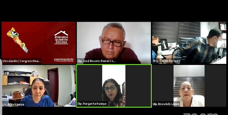 Aprueba Comisión reformas a Ley de Pensiones para el Estado de Sinaloa