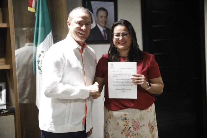 Quirino designa nueva secretaria de Desarrollo Sustentable