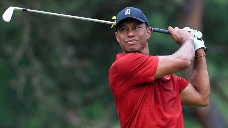 Tiger Woods jugará junto a su hijo un torneo oficial