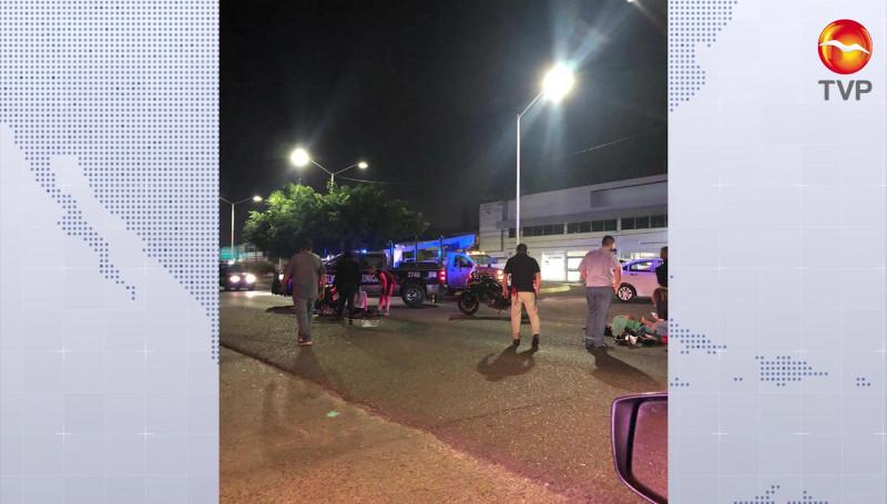 Tres personas lesionadas en accidente vial sobre la Av. Ejercito Mexicano