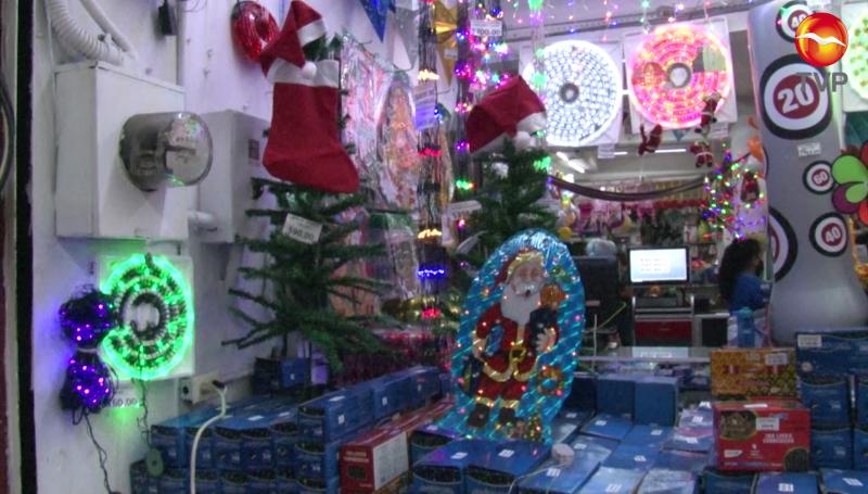 Bajas las ventas navideñas en el Centro