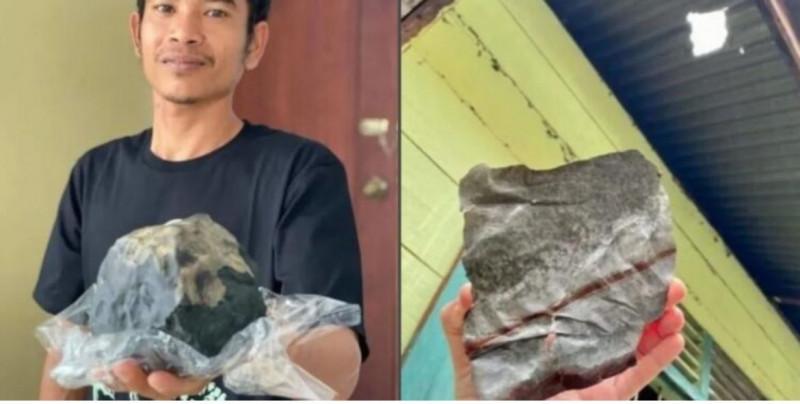 Joven se vuelve millonario tras vender un meteorito que cayó en su casa