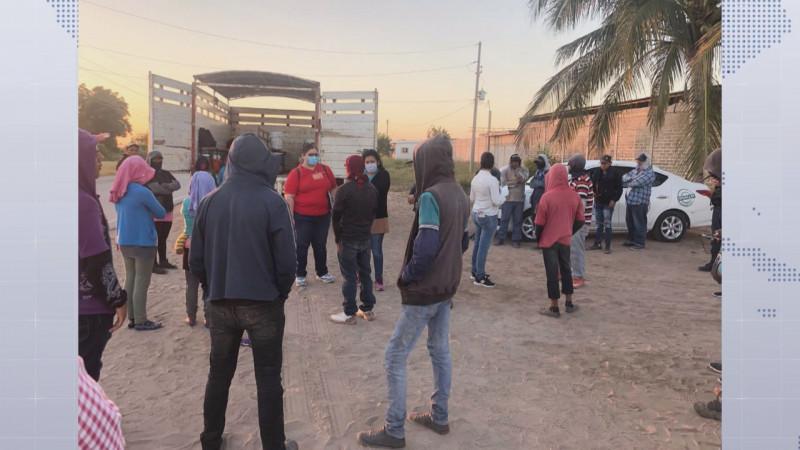 Llevan a trabajar al campo a 57 niñas, niños y adolescentes en Escuinapa