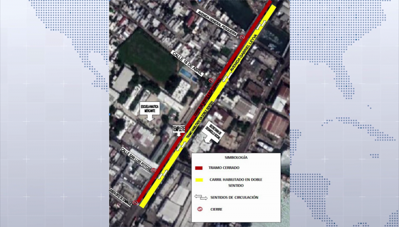 Cerrarán avenida Gabriel Leyva y Rafael Buelna, tome sus precauciones