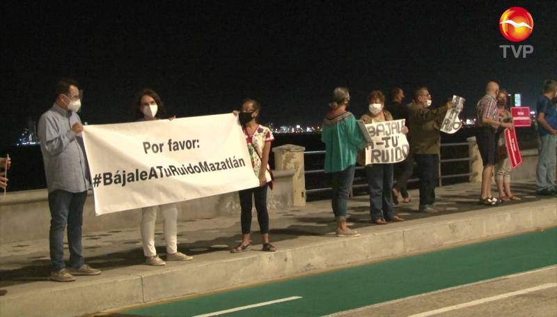 Piden que le bajen al ruido en Mazatlán