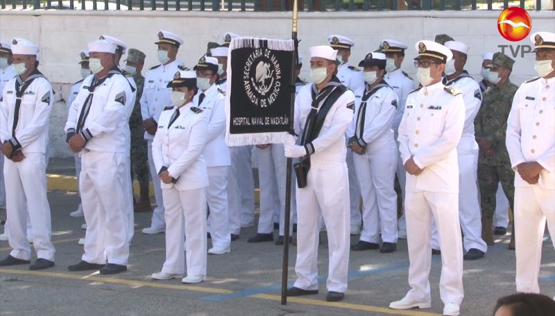Conmemoran el Día de la Armada de México en Mazatlán
