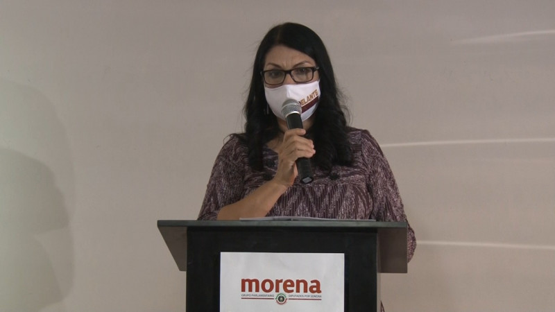 Cinco iniciativas aprobadas destaca diputada Ernestina Castro en su Informe