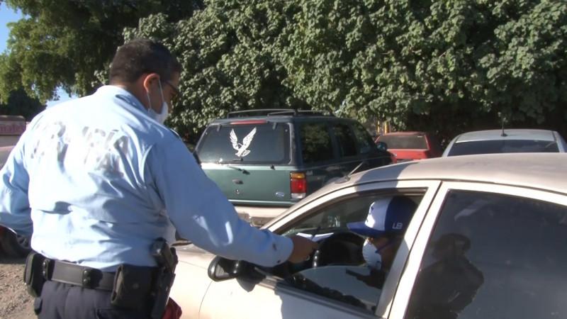 Suman 170 infracciones por revisado en Cajeme