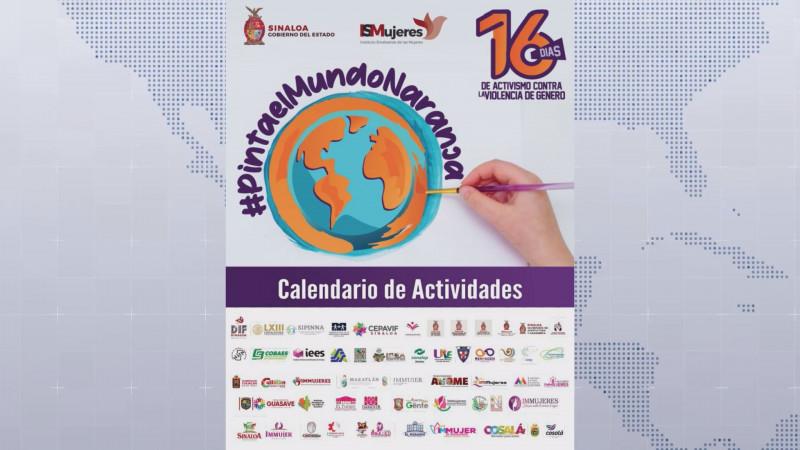 Anuncian actividades por  16 días de activismo contra la violencia a las mujeres