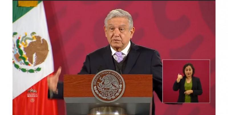 """""""No hay por qué adelantar tiempos"""": López Obrador sigue sin reconocer a Biden como presidente electo"""