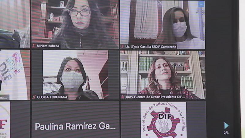 Rosy Fuentes da a conocer trabajo realizado en el DIF en la pandemia