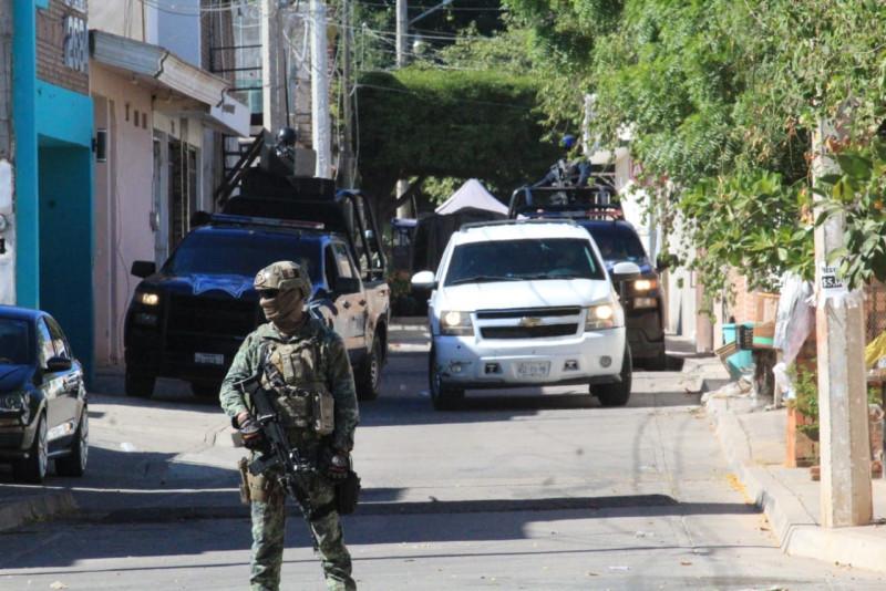 Implementan operativo militar en el sector Humaya