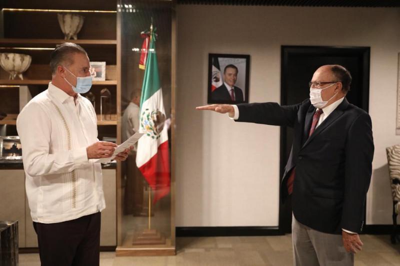 Vicente López Portillo nuevo Coordinador General de Asesores de Quirino Ordaz