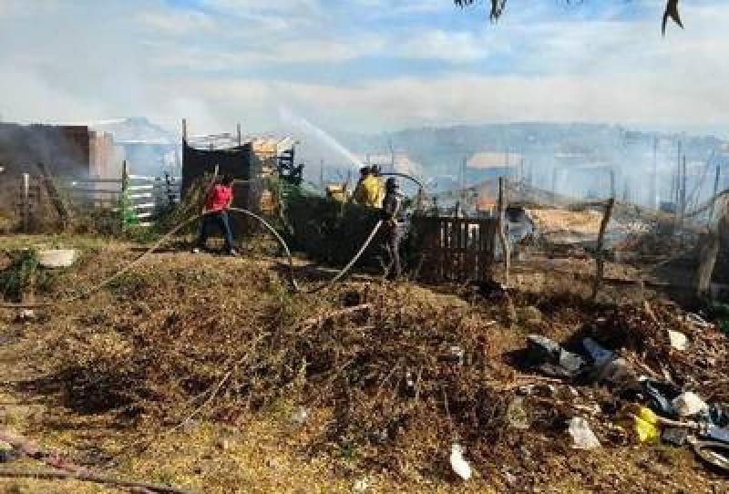 Lotes baldíos incendiados la emergencia más atendida por bomberos
