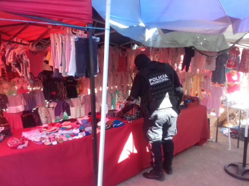 Inician revisiones para retirar pirotecnia de tianguis y mercados de Culiacán