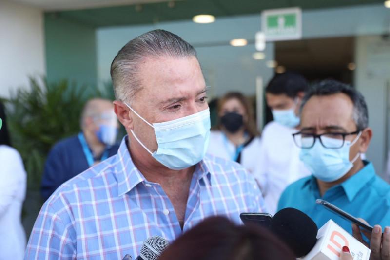De continuar tendencia estable no se descarta un regreso a clases en Sinaloa en Enero: Quirino Ordaz