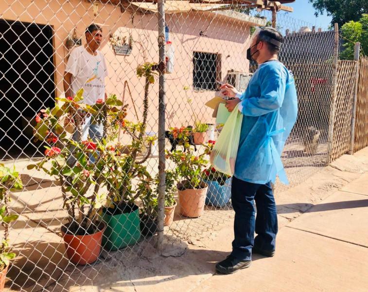 Lleva Gobierno Municipal apoyos al Estero de Juan José Ríos
