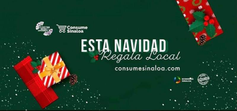 """Invitan a participar en la campaña """"Navidad Consume Sinaloa"""""""