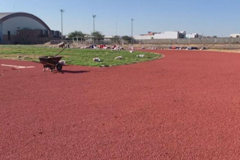 Este año concluyen la pista de atletismo del CAR en Culiacán