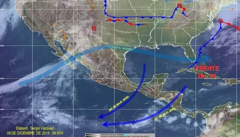 Se prevé baja de temperaturas en Sinaloa