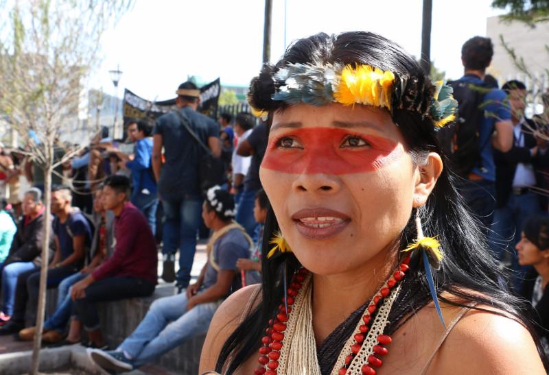 Nemonte Nenquimo, defensora de la Amazonía