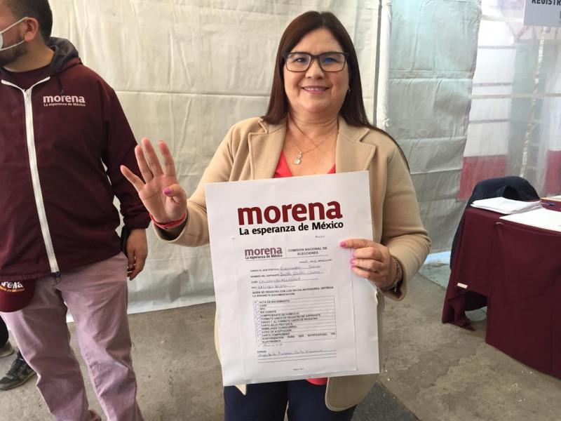 Imelda Castro también busca la candidatura por MORENA