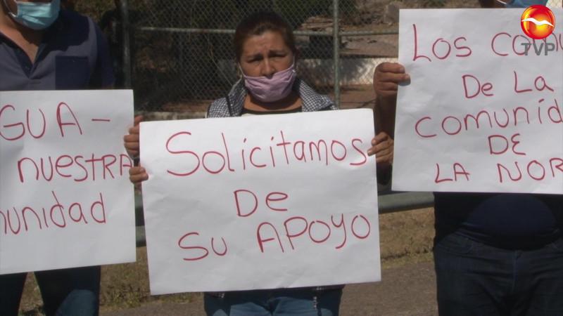 Reclaman agua, los poblados excluidos de la Picachos
