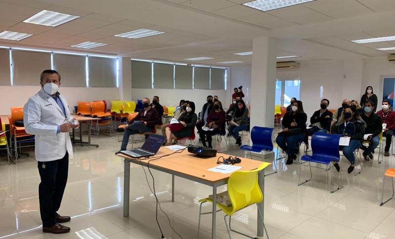 Imparte Salud Ahome taller sobre manejo de covid-19 a funcionarios