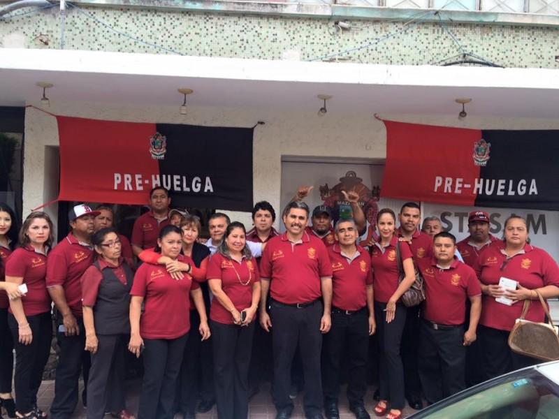 Listos para emplazamiento a huelga en Mazatlán