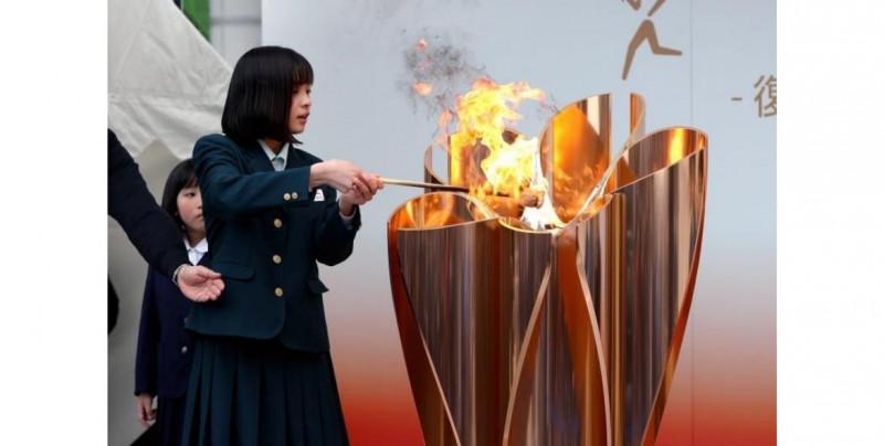 Tokio celebra que faltan 100 días para el relevo de la antorcha olímpica