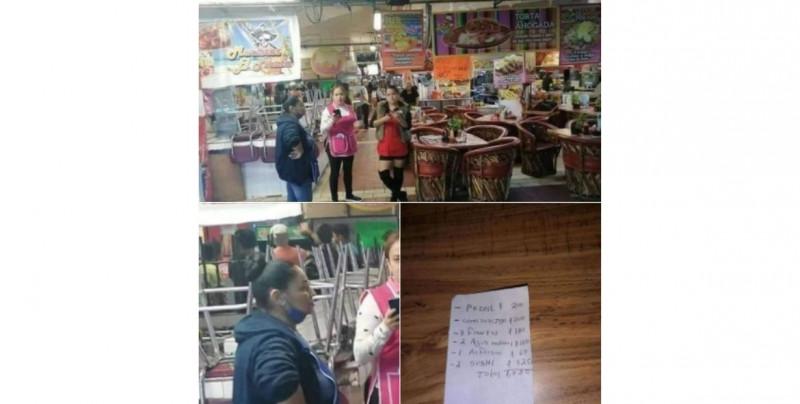 """Profeco clausura a """"Comida Lety"""" por cobrarle más de mil pesos a turistas en un desayuno sencillo"""