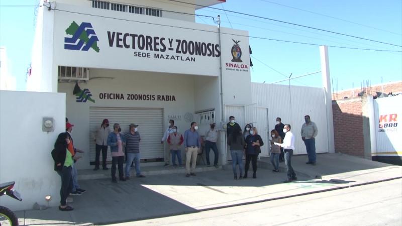 Paran labores vectores en Mazatlán